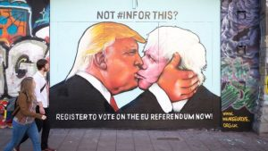 trump boris johnson bristol brexit